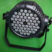 54pcs 3W waterproof rgbw led par light