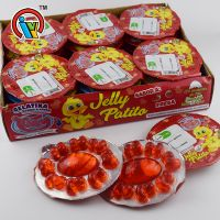 New Jelly Duck Patita Gelatina Sabor A Fresa
