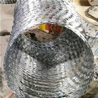 Razor Barbed Wire   barbed wire manufacturer    barbed wire supply