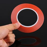 1mm width 3M Double Sided Adhesive Sticker Tape for iPhone / Samsung / HTC Mobile Phone Touch Panel thumbnail image