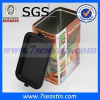 bespoke pet food tin box/cans with airtight lid manufacturer thumbnail image