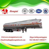 3 axle 42000 litres fuel tanker semi trailer