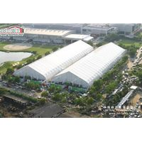 Modern Clear Span Curve Big Tent Design for Events