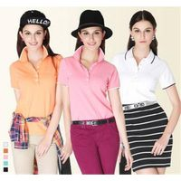 China wholesale latest polo designs for women made in china thumbnail image