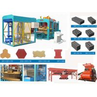 cement brick making machine hot sale