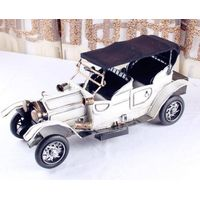 tinplate old car model
