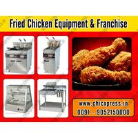 Hot & crispy fried chicken with tasty flavors equipments