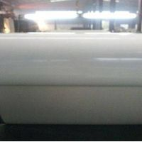 White PU Belt Smooth Surface