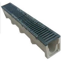 V type polymer concrete drainage channel