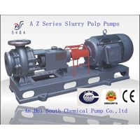 Hot sell AZ Paper pulp slurry pump