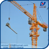 Hot QTZ63 (5013) Multipurpose Topkit Tower Crane 6t 50m Boom Specification