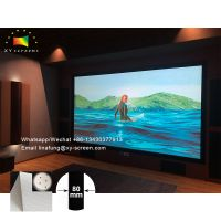 XYScreen Cinema Theater Sound System Sound 4K Perforating Acoustically Transparent Projection Screen thumbnail image