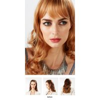 EYESHA fusion fashion wig 806B (Gold mix - setting wave style)