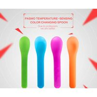 Pasmo disposable ice cream spoon with color changing