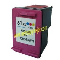 Remanufactured ink cartridge HP61xl CH564W
