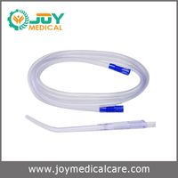 Disposable suction tube with Yankauer