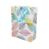 color printed shopping bag made of paper