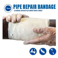 Oil & Gas Resistant Armor Wrapping Tape Fiberglass Fix Pipe Repair Tape