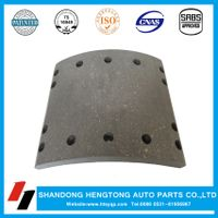 Brake lining non-asbestos/semi-metal for DAF brake system