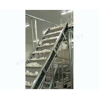 Baffle Coconut Meat Conveyor Machine