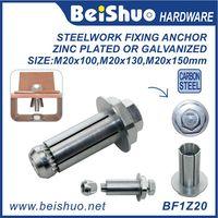 BF1Z20 M20 Galvanized & Zinc External Hex Expansion Flange Bolt thumbnail image