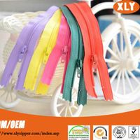 Shenzhen China zipper suppliers produce all kinds of nylon zipper, coil zipper, CFC zipper roll, nyl