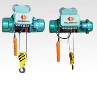 Nucleon factory single/double speed 1/2/3/5/10ton wire rope electric hoist with single girder crane thumbnail image