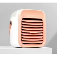 Mini Portable Air Cooler Air Conditioner 7 Colors LED USB Personal Space Cooler Fan Air Cooling Fan