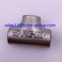 TOBO Butt-welding Equal Tee Nickel alloy 20 4'' sch40 ASME B16.9 thumbnail image