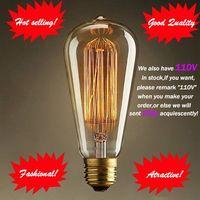 Fashion Incandescent Vintage Light Bulb,DIY Edison Bulb,Chirstmas Decoration lamp E27/220V/40W 60*14 thumbnail image