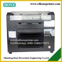 digital a3 size eco solvent flatbed printer dx5 head thumbnail image