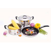 Stainless steel cookware set GLK-SET-074