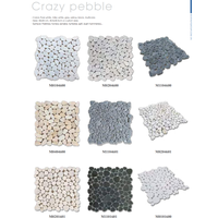 Crazy Pebble Marble Mosaic thumbnail image