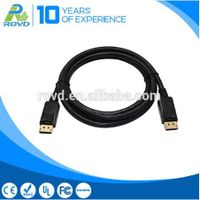 High quality DisplayPort male to DP male cable