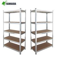Metal industrial warehouse storage rack shelves SG175