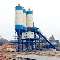 HZS90 Automatic New Mobile Concrete Batching Plant for Sale