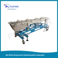 Strand Cooling Trough for Plastic Extrusion