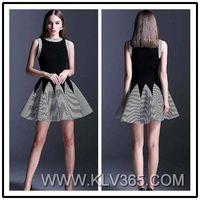 Western Style Women Fashion Sleeveless Summer Dress