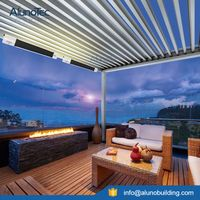 Customized Outdoor Aluminum Pergola With Roof
