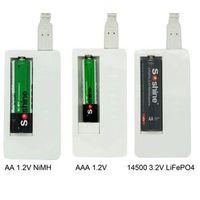 Soshine Li-FePO4 14500 10440/Ni-MH AAA AA Intelligent Charger