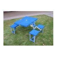 HXLK-043 Outdoor portable plastic folding table