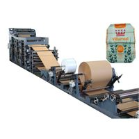 Industrial bags production line paper tube making machine