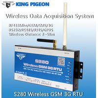 433Mhz wireless data acquisition data logger RTU S280