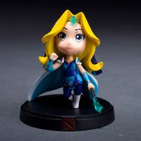 Customized action figure toys DOTA Rylai