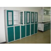 Laboratory chemical storage cabinet