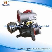 Auto Parts Turbocharger for Nissan Yd25ddti Yd25 Gt2056V Yd22/Zd30/Td27/Td42/Qd32/Fe6 thumbnail image