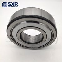 China Brand Sxr Chrome Steel Gcr15 Black Edges Black Corners Deep Groove Ball Bearing 6211 2RS thumbnail image