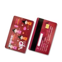 Barcode printing HICO magnetic stripe Printing PVC card VIP card Gift card thumbnail image