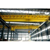 QD Model Double Girder 50 Ton EOT Crane Supplier From China thumbnail image