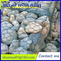 Hot Dip Galvanized Welded Gabion/River Control Galvanized Gabion Box